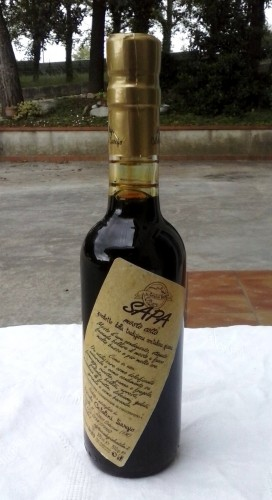 mosto d'uva cotto (la sapa)<br>ml 375 [0]