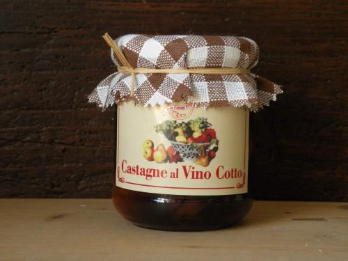 Castagne al Vino Cotto - vaso 212 [0]