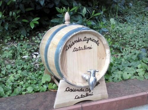 vino cotto in botte di castagno<br>(rovere) lt 5 [0]